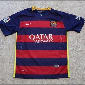 Nike Barcelona #10 Messi Jersey